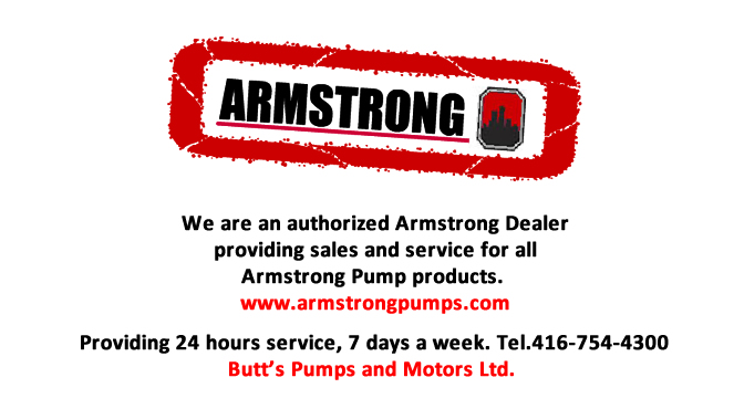 Authorized Armstrong Pumps Dealer